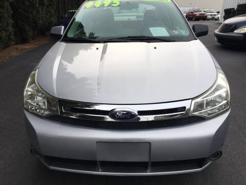 2008 Ford Focus for sale at BIRD'S AUTOMOTIVE & CUSTOMS in Ephrata PA