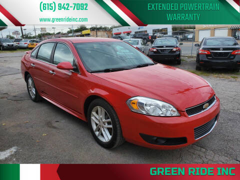 2013 Chevrolet Impala for sale at Green Ride Inc in Nashville TN