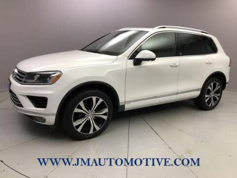 2017 Volkswagen Touareg for sale at J & M Automotive in Naugatuck CT