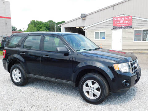2010 Ford Escape for sale at Macrocar Sales Inc in Akron OH