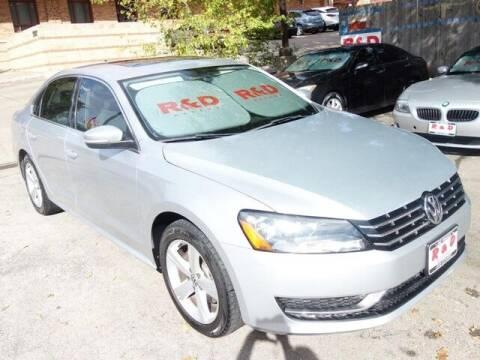 2013 Volkswagen Passat for sale at R & D Motors in Austin TX