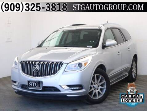 2015 Buick Enclave for sale at STG Auto Group in Montclair CA