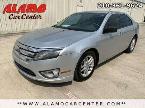 2012 Ford Fusion for sale at Alamo Car Center in San Antonio TX