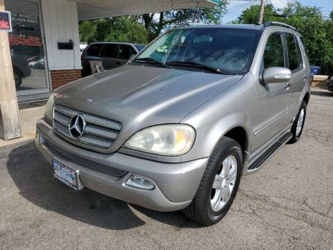 2005 Mercedes-Benz M-Class for sale at New Wheels in Glendale Heights IL