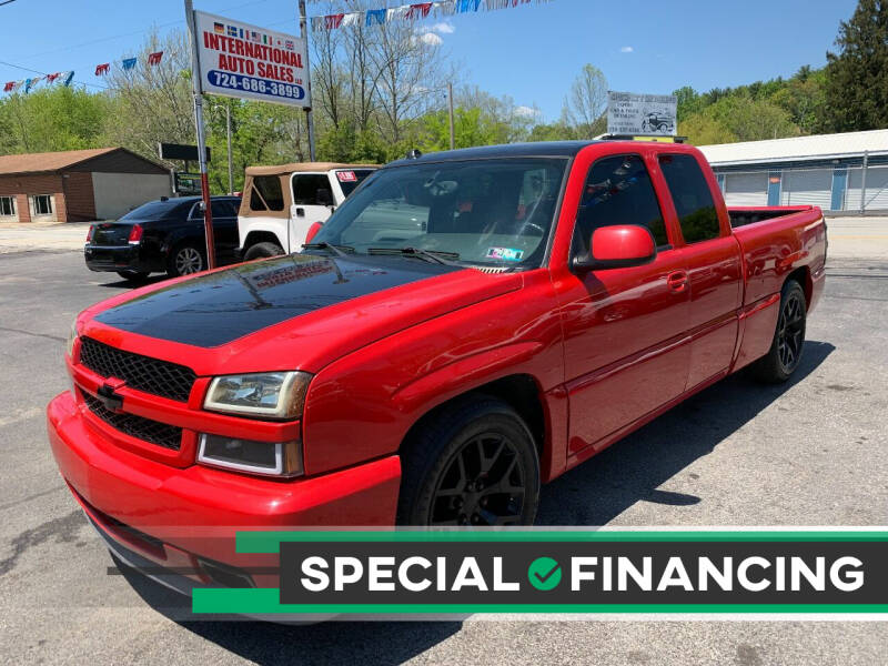 2004 Chevrolet Silverado 1500 SS for sale at INTERNATIONAL AUTO SALES LLC in Latrobe PA