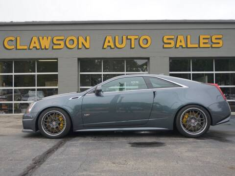 2011 Cadillac CTS-V for sale at Clawson Auto Sales in Clawson MI