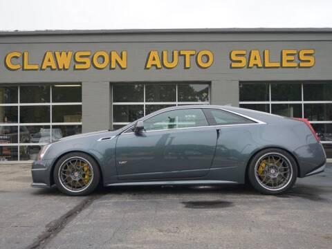 2011 Cadillac CTS-V for sale at Clawson Auto Sales in Clawson MI