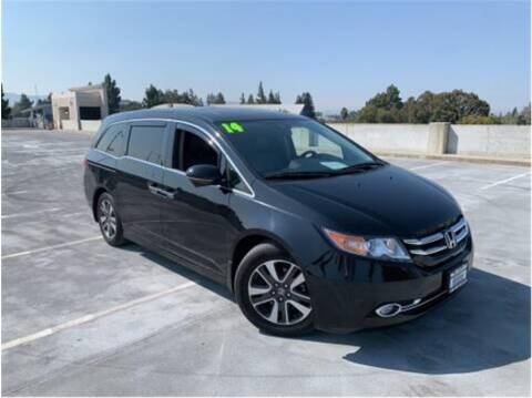 2014 Honda Odyssey for sale at BAY AREA CAR SALES in San Jose CA