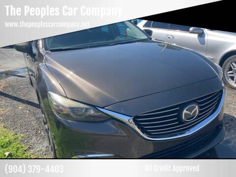 2016 Mazda MAZDA6 for sale at The Peoples Car Company in Jacksonville FL