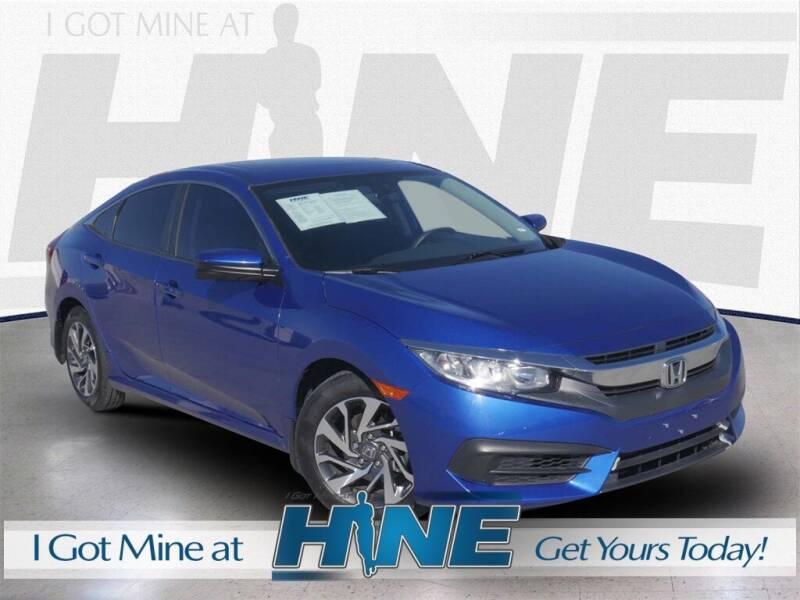 2016 Honda Civic for sale at John Hine Temecula in Temecula CA