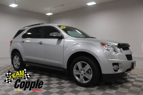 2015 Chevrolet Equinox for sale at Copple Chevrolet GMC Inc in Louisville NE