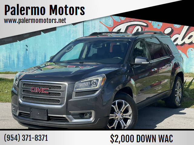 2014 GMC Acadia for sale at Palermo Motors in Hollywood FL