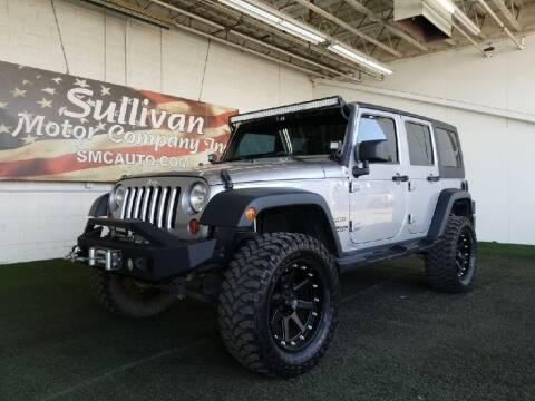 2013 Jeep Wrangler Unlimited for sale at SULLIVAN MOTOR COMPANY INC. in Mesa AZ