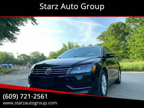 2014 Volkswagen Passat for sale at Starz Auto Group in Delran NJ