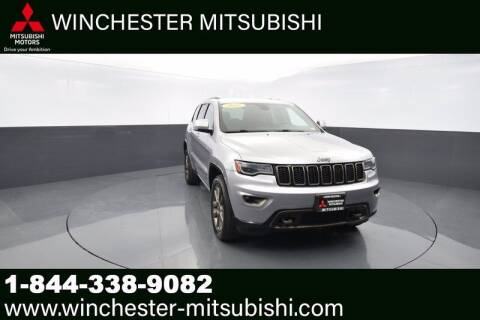 2016 Jeep Grand Cherokee for sale at Winchester Mitsubishi in Winchester VA