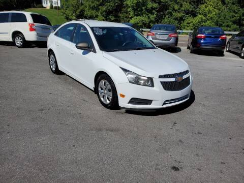 2012 Chevrolet Cruze for sale at DISCOUNT AUTO SALES in Johnson City TN