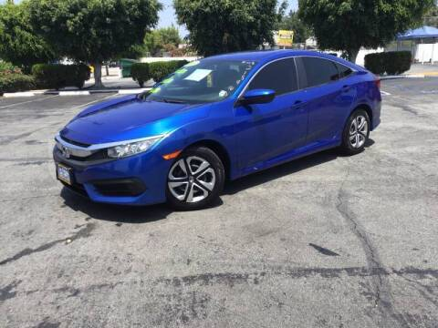 2016 Honda Civic for sale at LA PLAYITA AUTO SALES INC - 3271 E. Firestone Blvd Lot in South Gate CA