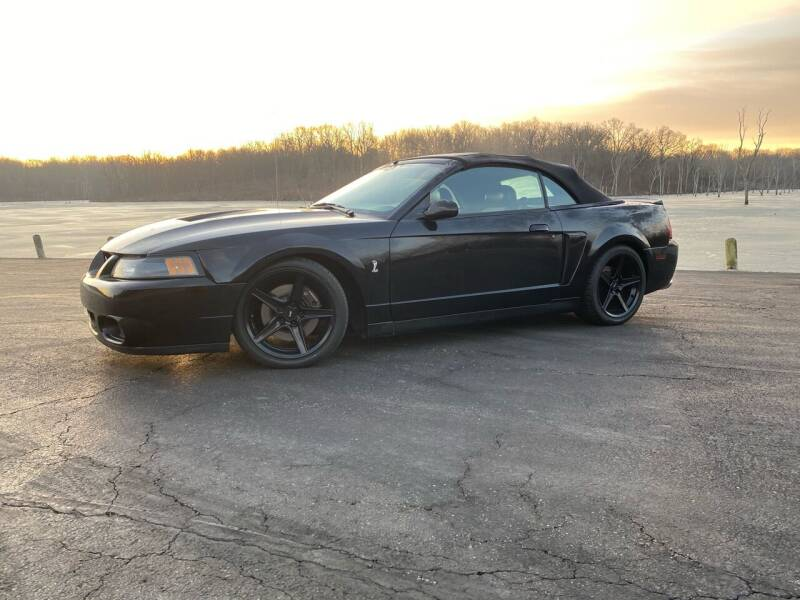 2003 Ford Mustang SVT Cobra for sale at N Motion Sales LLC in Odessa MO