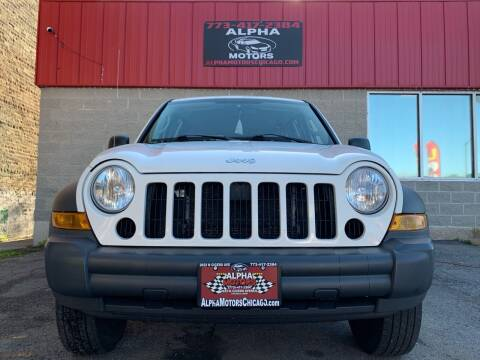 2006 Jeep Liberty for sale at Alpha Motors in Chicago IL