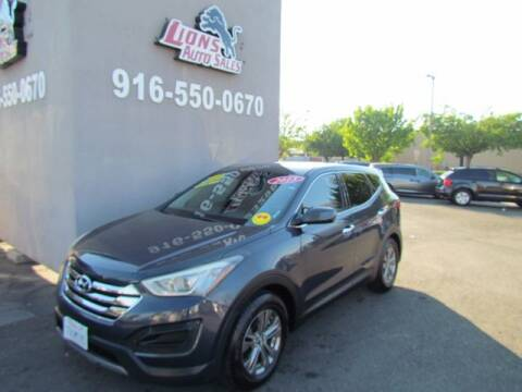 2013 Hyundai Santa Fe Sport for sale at LIONS AUTO SALES in Sacramento CA