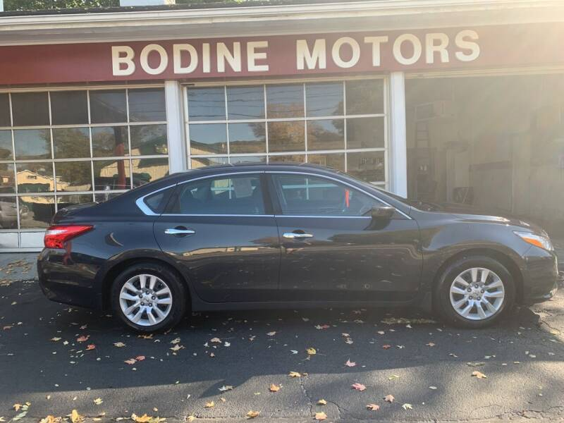 2017 Nissan Altima for sale at BODINE MOTORS in Waverly NY