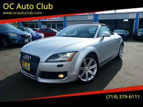 2008 Audi TT for sale at OC Auto Club in Midway City CA