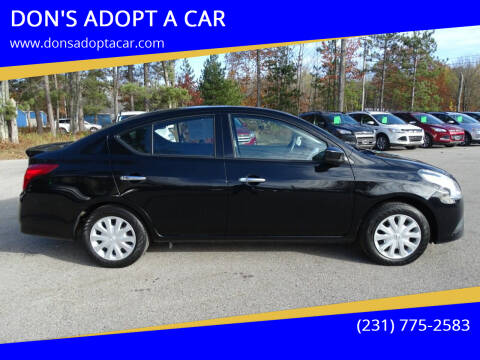 2017 Nissan Versa for sale at DON'S ADOPT A CAR in Cadillac MI