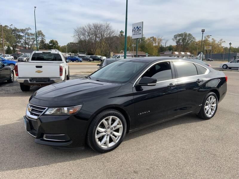 2017 Chevrolet Impala for sale at Peak Motors in Loves Park IL