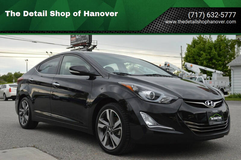 2015 Hyundai Elantra for sale at The Detail Shop of Hanover in New Oxford PA