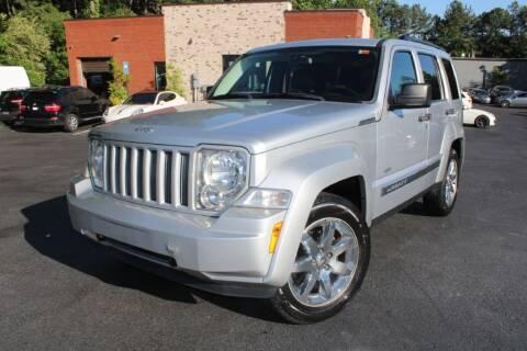 2012 Jeep Liberty for sale at Atlanta Unique Auto Sales in Norcross GA