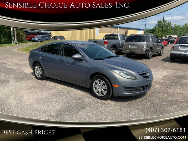 2011 Mazda MAZDA6 for sale at Sensible Choice Auto Sales, Inc. in Longwood FL