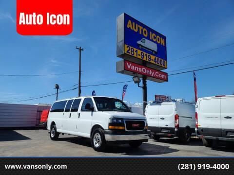 2018 GMC Savana Passenger for sale at Auto Icon in Houston TX