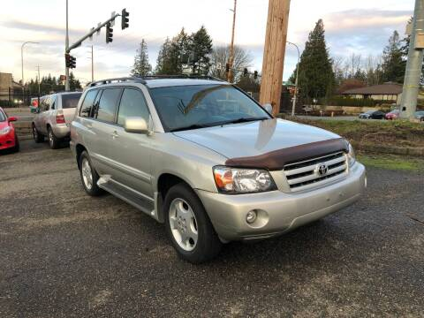 2006 Toyota Highlander for sale at KARMA AUTO SALES in Federal Way WA