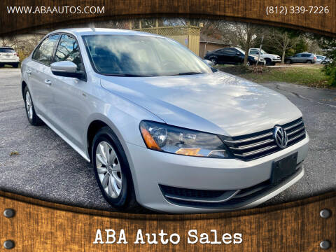 2015 Volkswagen Passat for sale at ABA Auto Sales in Bloomington IN