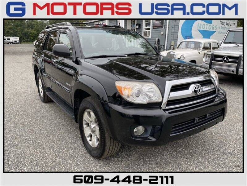 2006 Toyota 4Runner for sale at G Motors in Monroe NJ