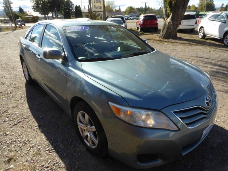 2011 Toyota Camry for sale at VALLEY MOTORS in Kalispell MT