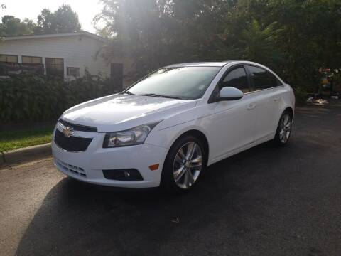 2011 Chevrolet Cruze for sale at TR MOTORS in Gastonia NC