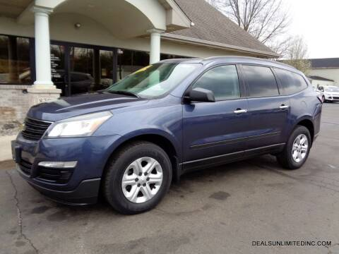 2014 Chevrolet Traverse for sale at DEALS UNLIMITED INC in Portage MI