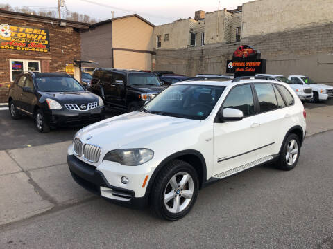 2009 BMW X5 for sale at STEEL TOWN PRE OWNED AUTO SALES in Weirton WV