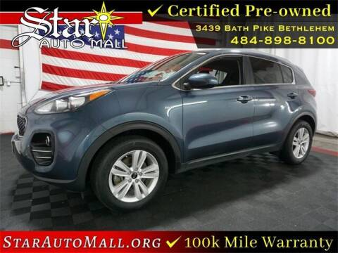 2018 Kia Sportage for sale at STAR AUTO MALL 512 in Bethlehem PA