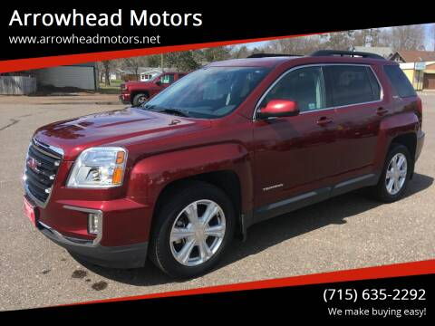 2017 GMC Terrain for sale at Arrowhead Motors in Spooner WI