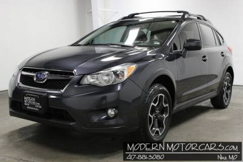 2015 Subaru XV Crosstrek for sale at Modern Motorcars in Nixa MO