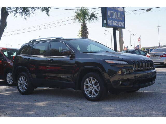 2015 Jeep Cherokee for sale at Winter Park Auto Mall in Orlando FL