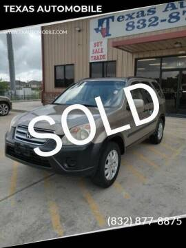 2006 Honda CR-V for sale at TEXAS AUTOMOBILE in Houston TX