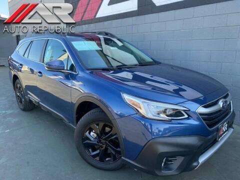 2020 Subaru Outback for sale at Auto Republic Fullerton in Fullerton CA