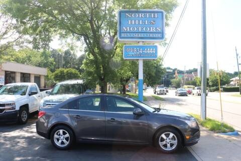 2011 Chevrolet Cruze for sale at North Hills Motors in Raleigh NC