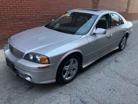 2002 Lincoln LS for sale at QUALITY AUTO SALES INC in Chicago IL