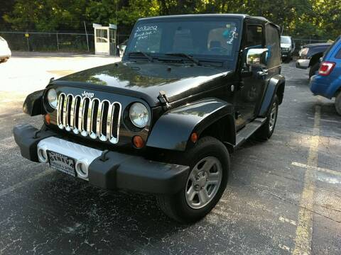 2010 Jeep Wrangler for sale at Ace Motors in Saint Charles MO