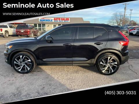 2020 Volvo XC40 for sale at Seminole Auto Sales in Seminole OK