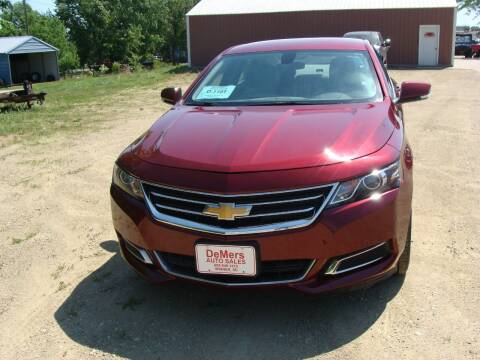 2017 Chevrolet Impala for sale at DeMers Auto Sales in Winner SD